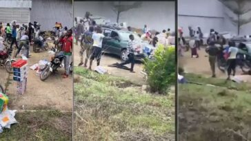 Another Warehouse Filled With Covid-19 Palliatives Currently Being Looted In Ede, Osun State [Video] 8