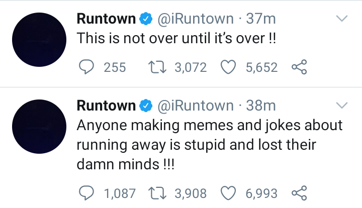 """""""Anyone Making Jokes About Running Away From Nigeria Is Mad And Stupid"""" – Runtown 2"""