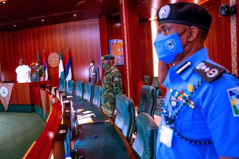 Preident Buhari Meets Obasanjo, Jonathan, Gowon, Others Amid #EndSARS Protests [Photos] 4