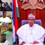 Preident Buhari Meets Obasanjo, Jonathan, Gowon, Others Amid #EndSARS Protests [Photos] 28