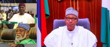 """I Stopped #EndSARS Protest Because It Was Hijacked"" - President Buhari Tells Ex-Leaders 26"