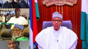 """I Stopped #EndSARS Protest Because It Was Hijacked"" - President Buhari Tells Ex-Leaders 9"