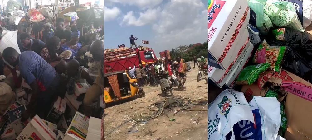 Kwara State Residents Invades Warehouse In Ilorin, Cart Away COVID-19 Palliative [Video] 1