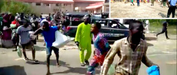Six People Killed As Security Forces Open Fire At COVID-19 Palliatives Warehouse In Ilorin 24