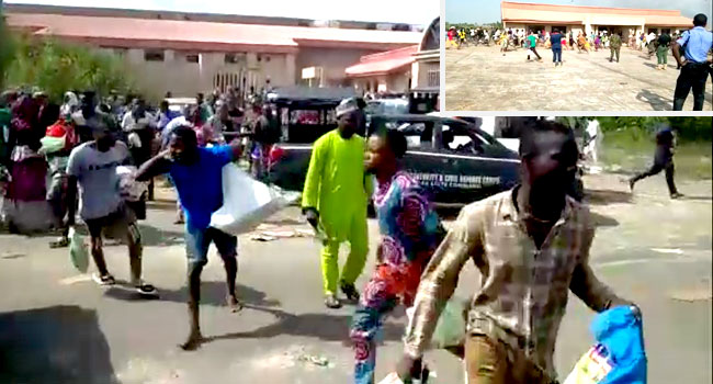 Six People Killed As Security Forces Open Fire At COVID-19 Palliatives Warehouse In Ilorin 1