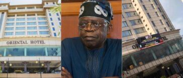 Oriental Hotel Puts Up Poster Denying It Is Owned By Tinubu After Attack By Angry Mob 24
