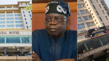 Oriental Hotel Puts Up Poster Denying It Is Owned By Tinubu After Attack By Angry Mob 11