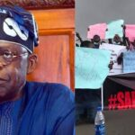 """#EndSARS Protest: Angry Nigerians Storms Tinubu's Residence In London Shouting """"Ole"""" [Video] 27"""