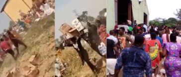 Residents Loot Warehouse Filled With COVID-19 Palliative In Yola, Adamawa State [Video] 24