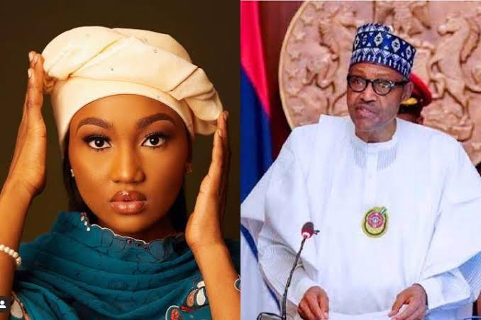 COVID-19 Palliatives In Warehouses Proves My Dad Isn't Nigeria's Problem - Buhari's Daughter, Zahra 1