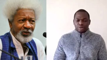 Soyinka Condemns Adeyinka Grandson's Video Asking Igbo People To Leave Yorubaland 1