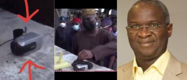 Fashola Discovers Mystery Camera At Lekki Toll Gate, Five Days After Shooting Incident [Video] 26