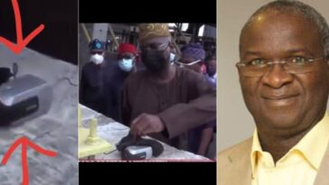 Fashola Discovers Mystery Camera At Lekki Toll Gate, Five Days After Shooting Incident [Video] 3