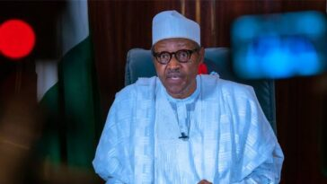 """Turn Back Any Family Member Who Bring Home Looted Goods"" — Buhari Tells Nigerians 5"