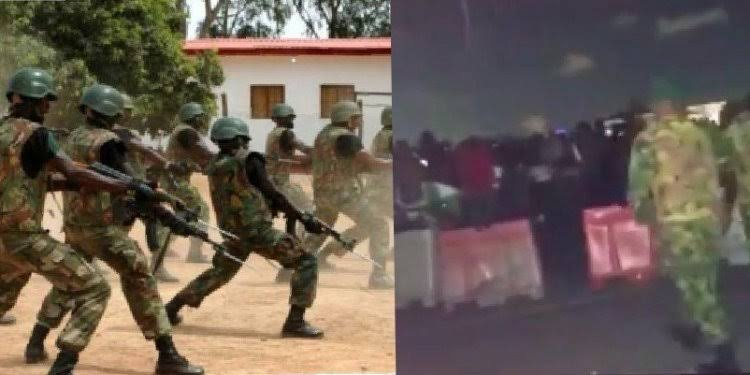 Nigerian Soldiers Involved In Lekki Massacre Dumped Eight Bodies In Bonny  Camp Clinic   Kanyi Daily News
