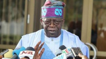 Tinubu Reveals Why He Didn't Request Army, Police To Stop Those Who Razed TVC, The Nation 13
