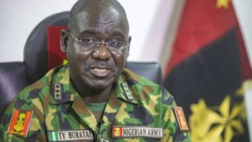 Buratai Says Soldiers Were Ensuring Curfew Compliance At Lekki During Shooting Incident 13