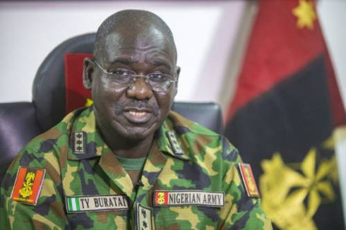 Buratai Says Soldiers Were Ensuring Curfew Compliance At Lekki During Shooting Incident 1