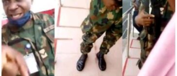 Nigerian Soldier Arrested For Threatening And Assaulting A Lady At Lagos ATM Queue [Video] 24