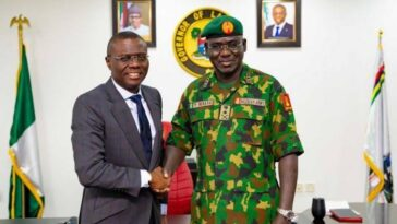 Lekki Shooting: Sanwo-Olu Invited Us After He Imposed Curfew In Lagos – Nigerian Army 13