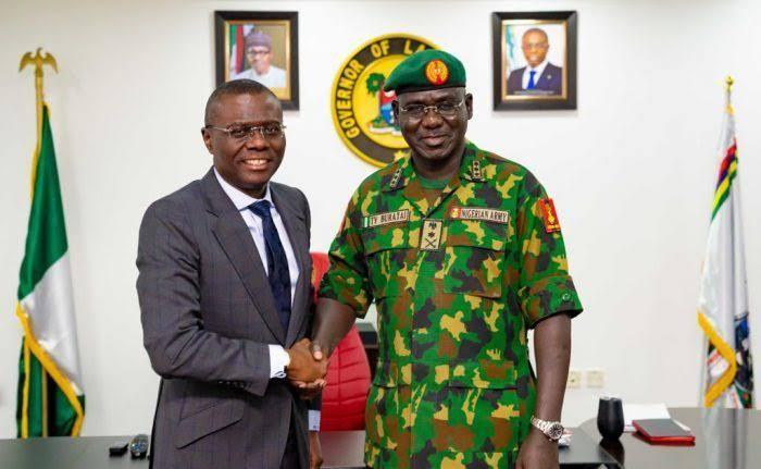 Lekki Shooting: Sanwo-Olu Invited Us After He Imposed Curfew In Lagos – Nigerian Army 1