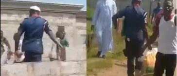 NSCDC Sacks Officer Caught On Camera Looting COVID-19 Palliatives In Abuja [Video] 24