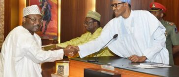 President Buhari Nominates Mahmood Yakubu As INEC Chairman For Second Term 24