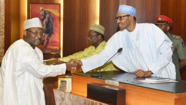 President Buhari Nominates Mahmood Yakubu As INEC Chairman For Second Term 8