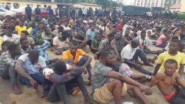 Police Arrests 520 Suspects Involved In Lagos Violence Including Those Who Burnt BRT Buses, TVC 8