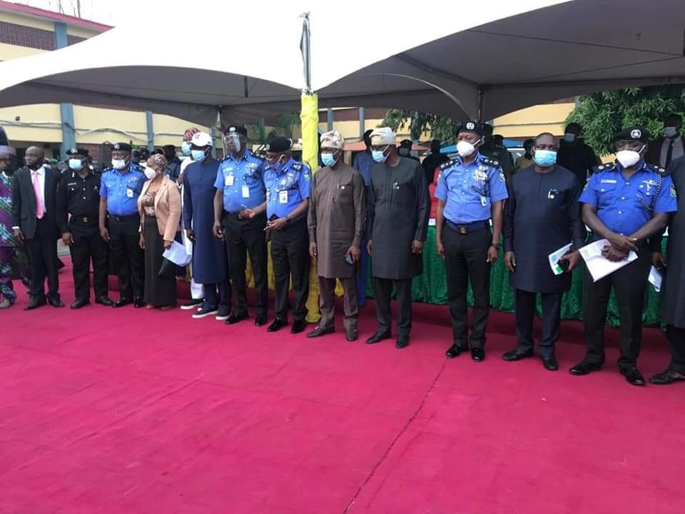 Lagos State Government Compensates Police Officers killed during #EndSARS protest 2