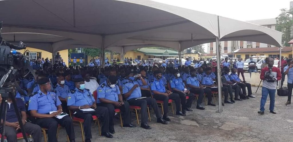 Lagos State Government Compensates Police Officers killed during #EndSARS protest 7