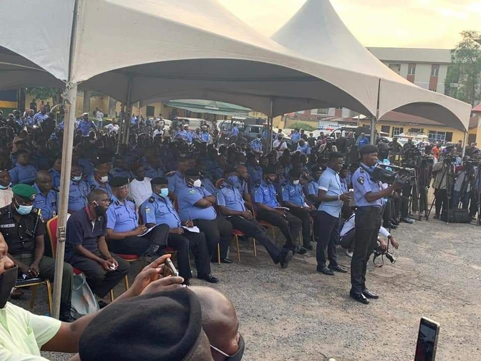 Lagos State Government Compensates Police Officers killed during #EndSARS protest 6