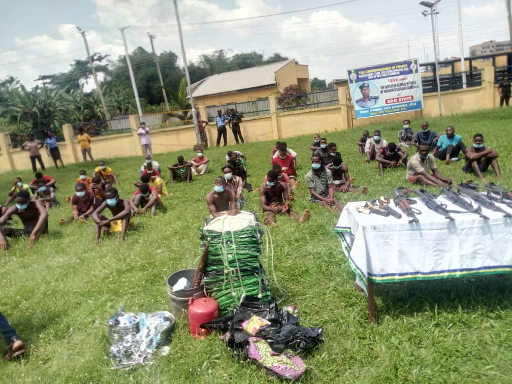 Prisoners Who Escaped From Edo Prison Re-Arrested For Robbery And Attempted Murder 1
