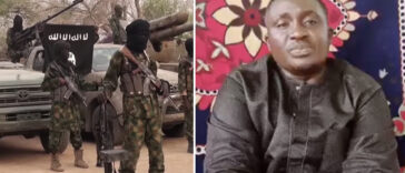 """Please Help Save Me"" - Missing Plateau Pastor Appears In New Boko Haram Video 24"