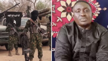 """Please Help Save Me"" - Missing Plateau Pastor Appears In New Boko Haram Video 8"