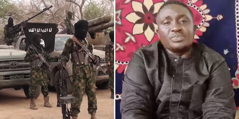 """""""Please Help Save Me"""" - Missing Plateau Pastor Polycap Zango Appears In New Boko Haram Video 1"""