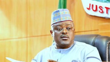 Lagos Speaker, Mudashiru Obasa Orders Lawmakers To 'Look Down' On Those Killed By Police [Video] 10