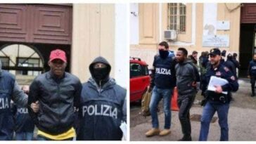 Police Arrests 74 Nigerian Cultists Running Prostitution And Drug Trafficking Rings In Italy 11