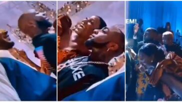 Davido Storms Wedding In Ghana, Leaves Couple Excited As He Performs For Free [Video] 5