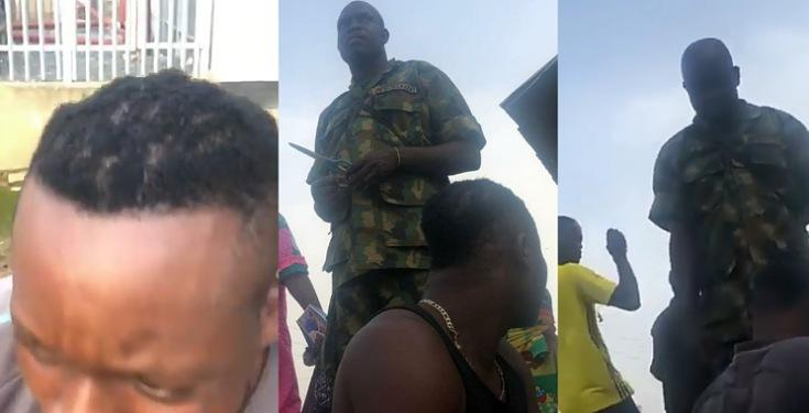 Operation Burst: Soldier Cuts Man's Hair With Scissors After Allegedly Extorting Money From Him [Video] 1