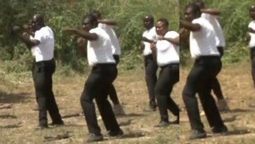 Nigerians Reacts To Viral Videos Of Newly Formed SWAT Officers Taking Kung Fu Lessons 2