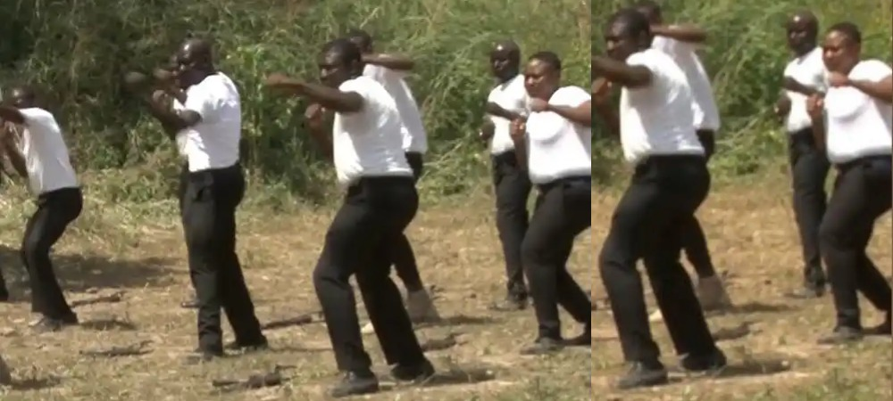Nigerians Reacts To Viral Videos Of Newly Formed SWAT Officers Taking Kung Fu Lessons 1