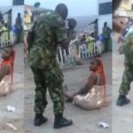 Operation Burst: Soldier Flogs Woman In Public For 'Indecent Dressing' In Ibadan [Video] 27