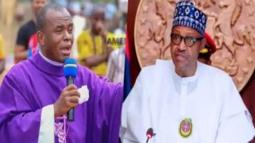 Buhari Has Failed Nigerians Woefully, He Should Resign Or Face Impeachment - Fr Mbaka [Video] 3