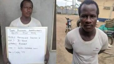 Police Arrests Man For Strangling His Girlfriend To Death Inside Hotel Room In Ogun 6