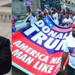 US President, Donald Trump Reacts As Nigerians Holds Rally To Campaign For Him [Video] 9