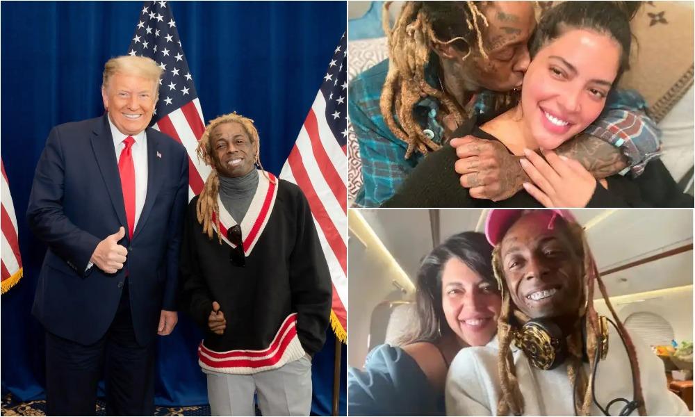 Lil Wayne's Girlfriend, Denise Bidot Dumps Him Over His Support For President Trump 1