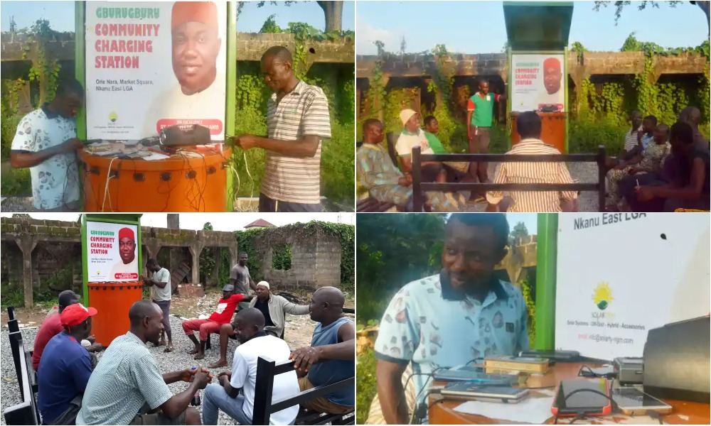 Governor Ugwuanyi, LG Chairman Launches Charging Station For Enugu People [Photos] 1