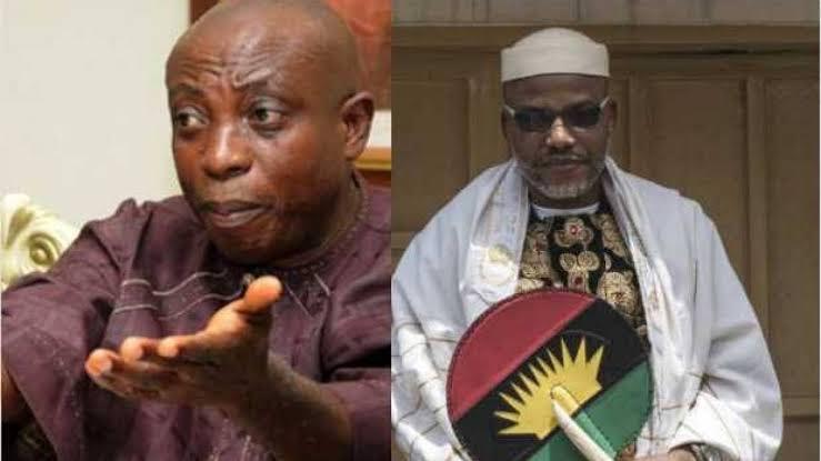 """""""Wike Is Not Killing Any Igbo Man"""" - Uwazuruike Blames Nnamdi Kanu For Oyigbo Massacre 1"""
