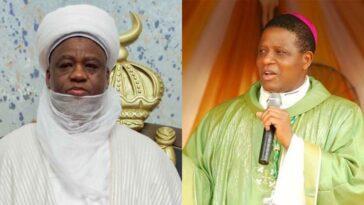HURIWA Kicks As Sultan Of Sokoto Calls For Arrest Of Enugu Catholic Bishop, Godfrey Onah 1